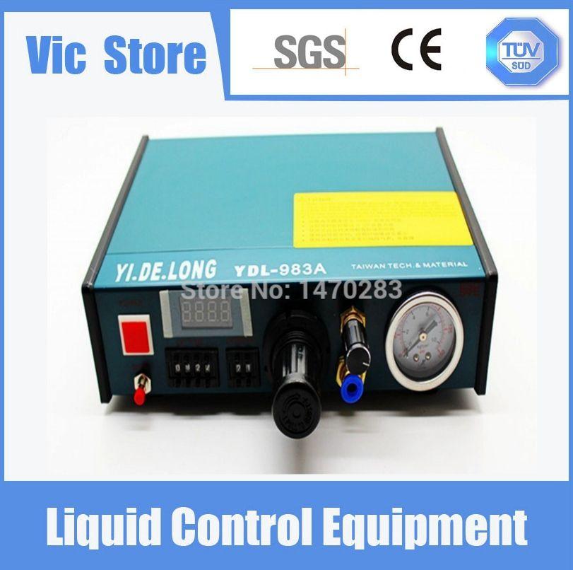 YDL-983A Professionelle Präzise Digitale Auto Kleber Dispenser Lotpaste Flüssig-controller Dropper 220 V Freies Verschiffen
