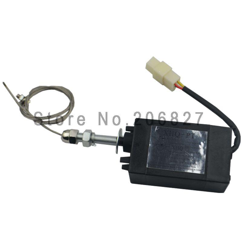 Dieselmotor Flamme Aus Gerät motor-stopp-magnetventil XHQ-PT 12 V/24 V