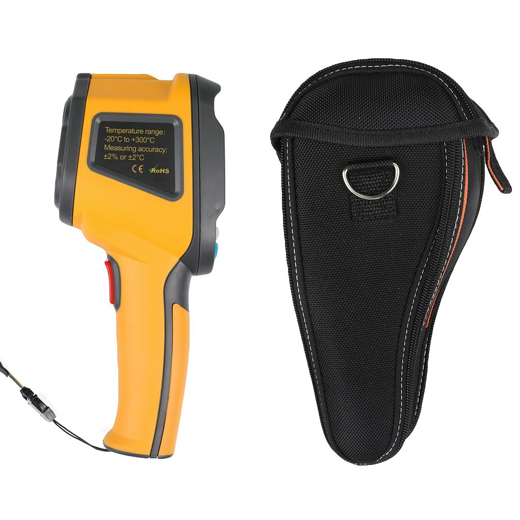HT-02D Handheld IR Thermal Imaging Camera Digital Display Infrared Image Resolution Thermal Imager termometro infravermelho 1pcs