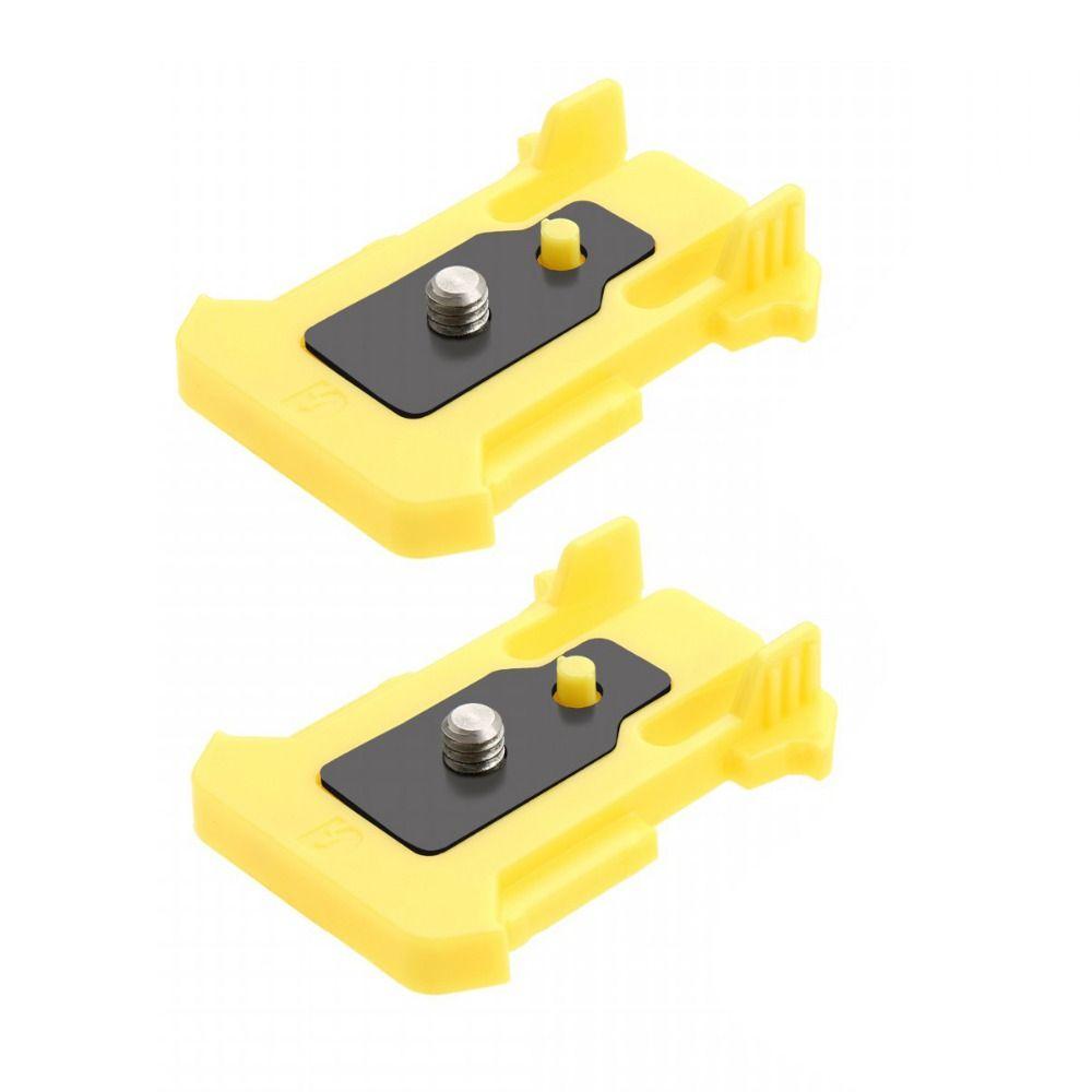 Liberación rápida hebilla de montaje de conexión para Cámara de Acción Sony HDR-AS10/AS15/AS100V/AS30V paquete de 2