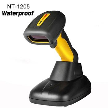 High quality waterproof wireless Handheld Scanner 1D laser Barcode Reader high speed wireless barcode scanner for Supermarket