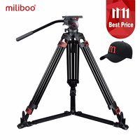 Miliboo mtt609a Professional Heavy Duty гидравлическая головка шаровая камера штатив для видеокамеры/стойка для цифрового однообъективного зеркального фот...