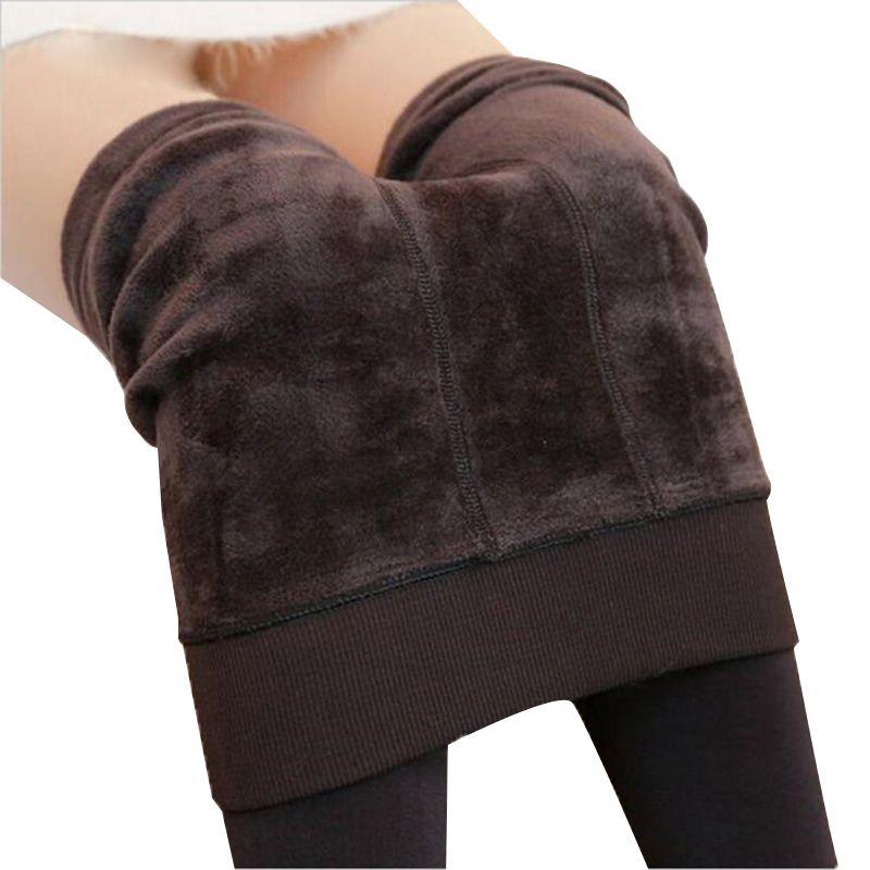 Nessaj automne hiver mode femmes Plus cachemire collants haute qualité tricoté velours collants élastique mince chaud épais collants