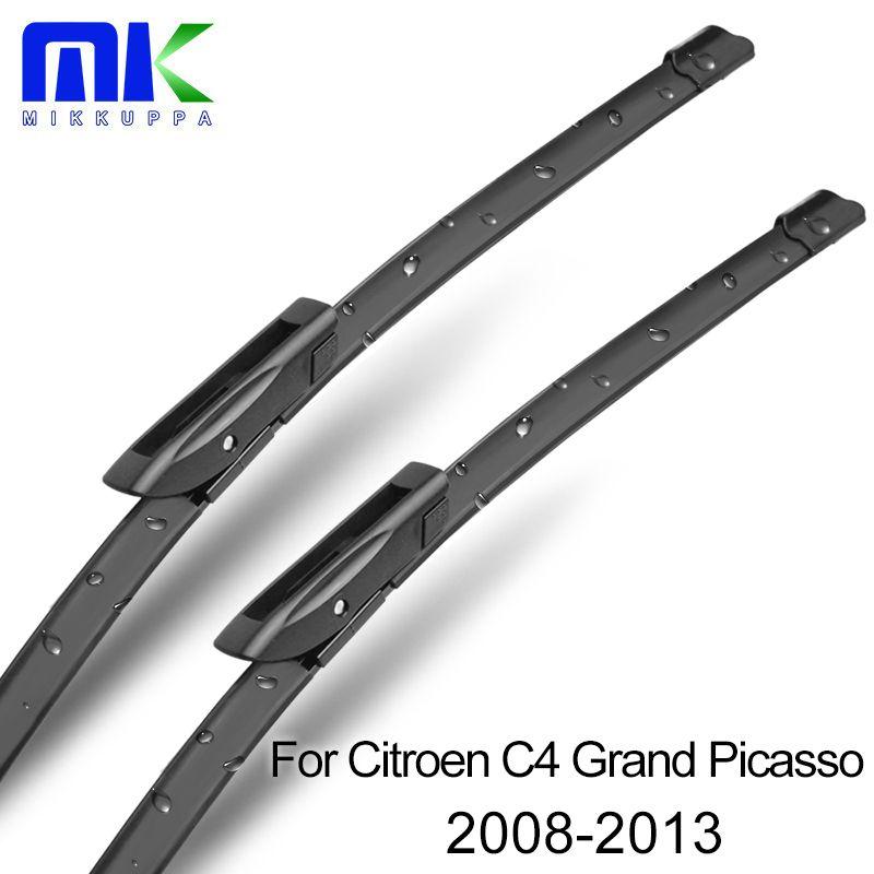 Avant et Arrière Balais D'essuie-Glace Pour Citroen C4 Grand Picasso 2008 2009 2010 2011 2012 2013 Pare-Brise Essuie-glace Voiture Accessoires