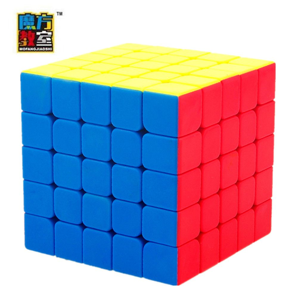 Мою mofangjiaoshi 5x5x5 Стикеры Скорость Cube Magic Cube Игрушечные лошадки
