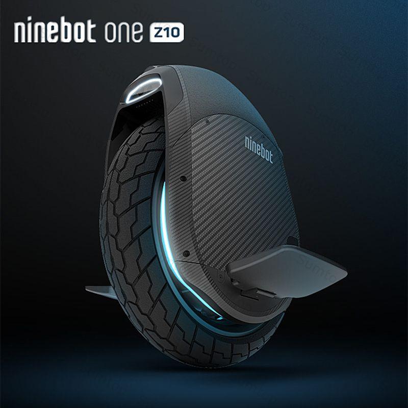 Original Ninebot Eine Z10 Selbst Ausgleich Rad Roller Elektrische Einrad 1800 watt Motor Geschwindigkeit 45 km/std bauen-in Griff hoverboard Z Z6