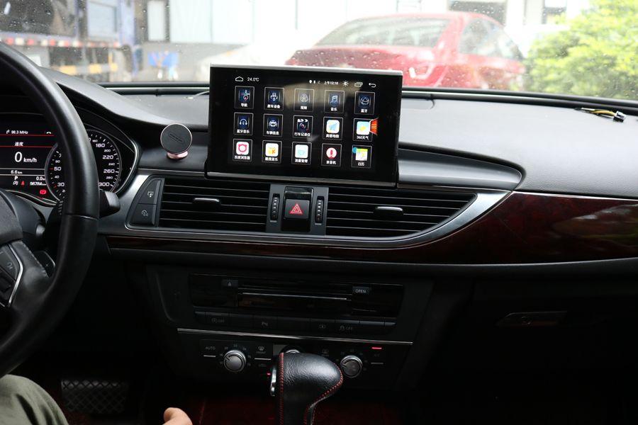 Premium Audio Gerät Auto Stereo navigation Für 2012-2018 AUDI A6 A6L 8 HU GPS radio android 8.0 multimedia bluetooth-player