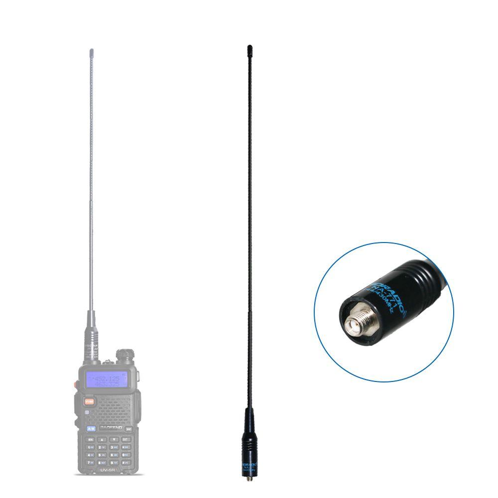 TID RADIO NA-771 Walkie Talkie Antenna SMA-Female 144/430MHz Dual Band Antenna for Baofeng uv-5r bf-888s uv-82 Handheld Radio