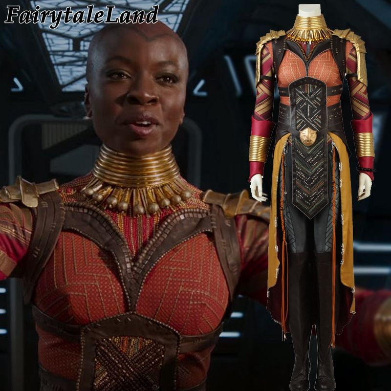 2018 Black Panther Okoye Cosplay Costume Carnival Halloween costume Cosplay Avengers Infinity War Okoye costume suit