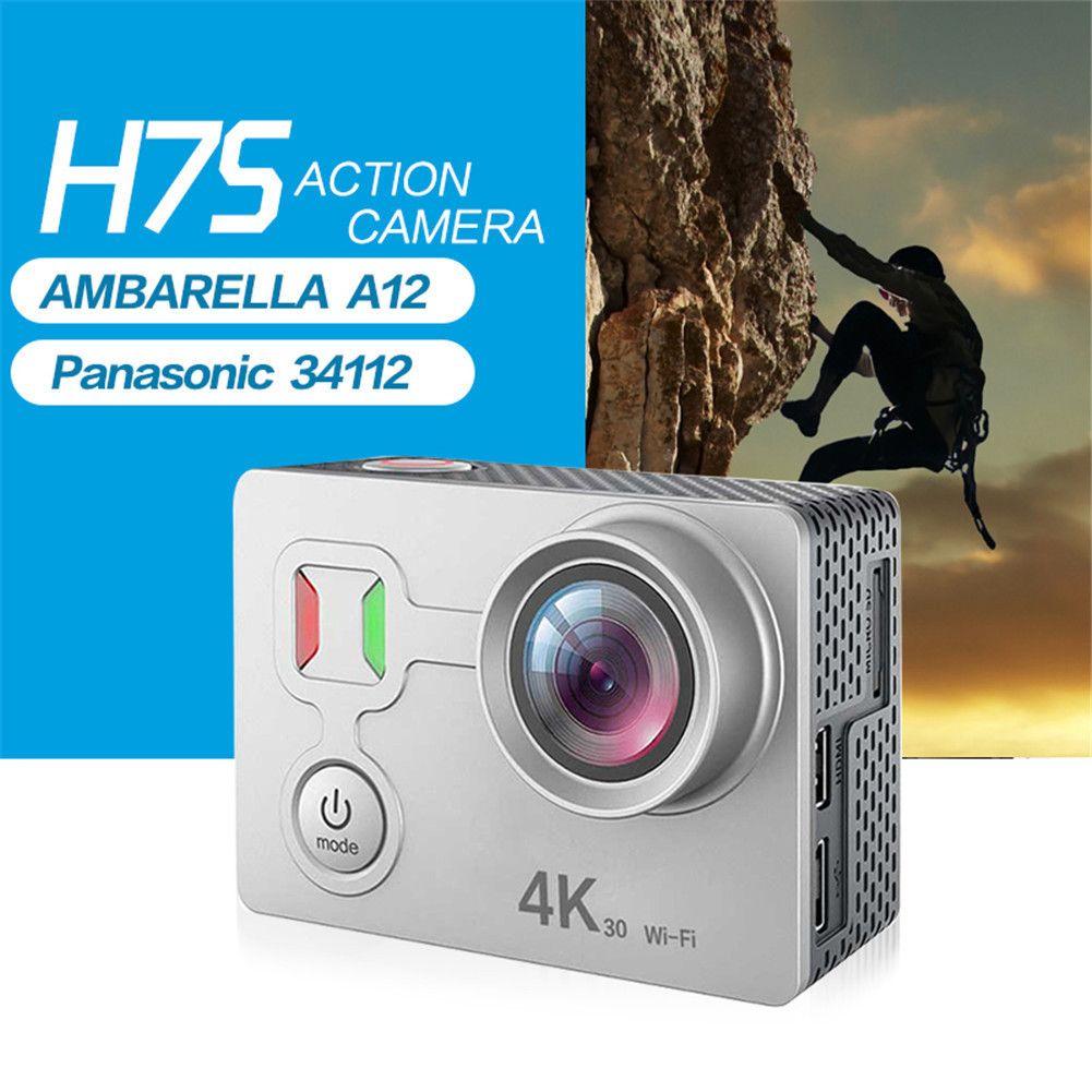 H7S 40M Waterproof Camcorder Digital WiFi Sport Action Camera 4K 30fps HD Anti-shake Underwater DV Camera Remote Shooting