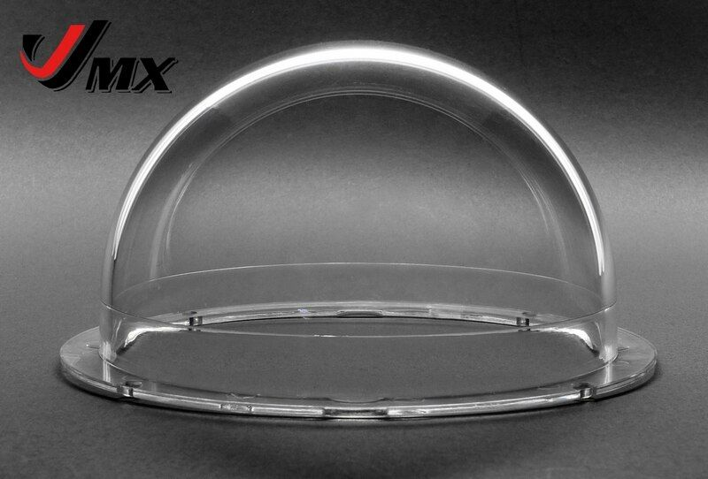 JMX 4 POUCE Acrylique Intérieur/Extérieur CCTV Remplacement Avancée Clair Dôme Caméra De Sécurité Caméra Dôme Logement