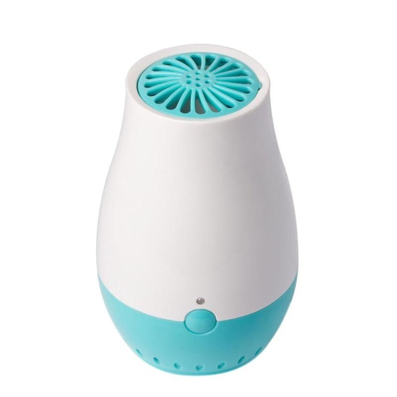 USB Portable Mini Ozone Freshener Generator Air Purifier Cleaner Ozone Ionic Diffuser Smoke Odor Bacteria Remover Refrigerator