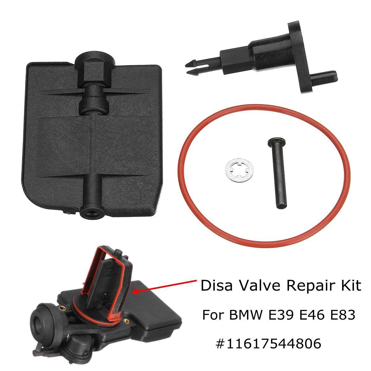 Saugrohr DISA Ventil Reparatur Kit 11617544806 für BMW E39 E46 E83 325i 525i M54 2,5 2001-2006