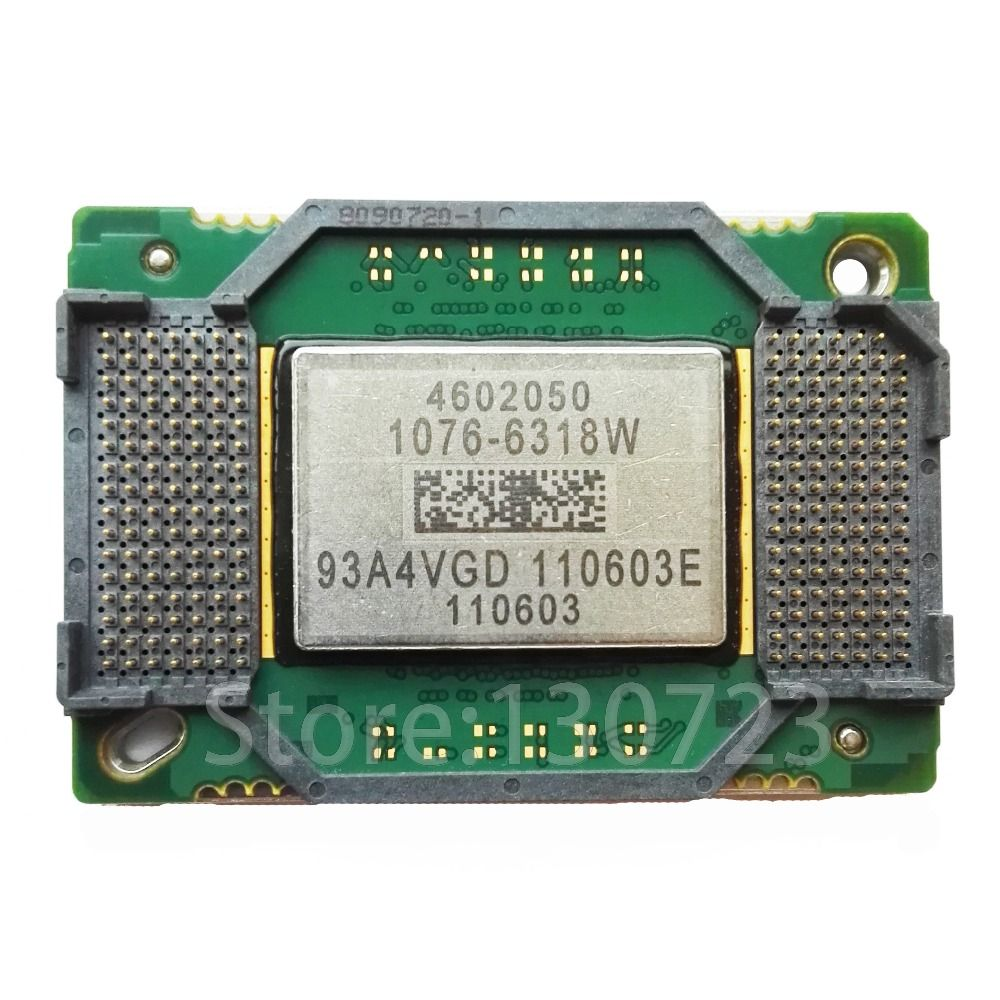 NEW original 1076-6318W 1076-6318 1076 6318B big DMD chip for projectors/projection same use
