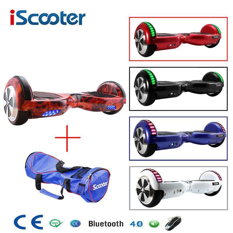 6,5 zoll Hoverboard Zwei Rädern Selbst Balance Roller Hover Board Mit Tragen Tasche