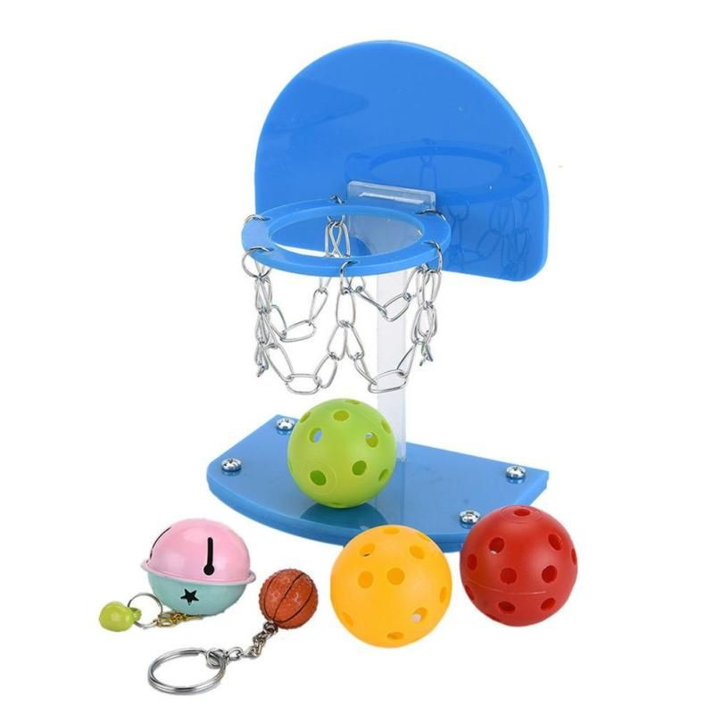Plastic Mini Basketball Pet Bird Parrot Toys Parakeet Budgie Toy For Birds Supplies Accessories #30