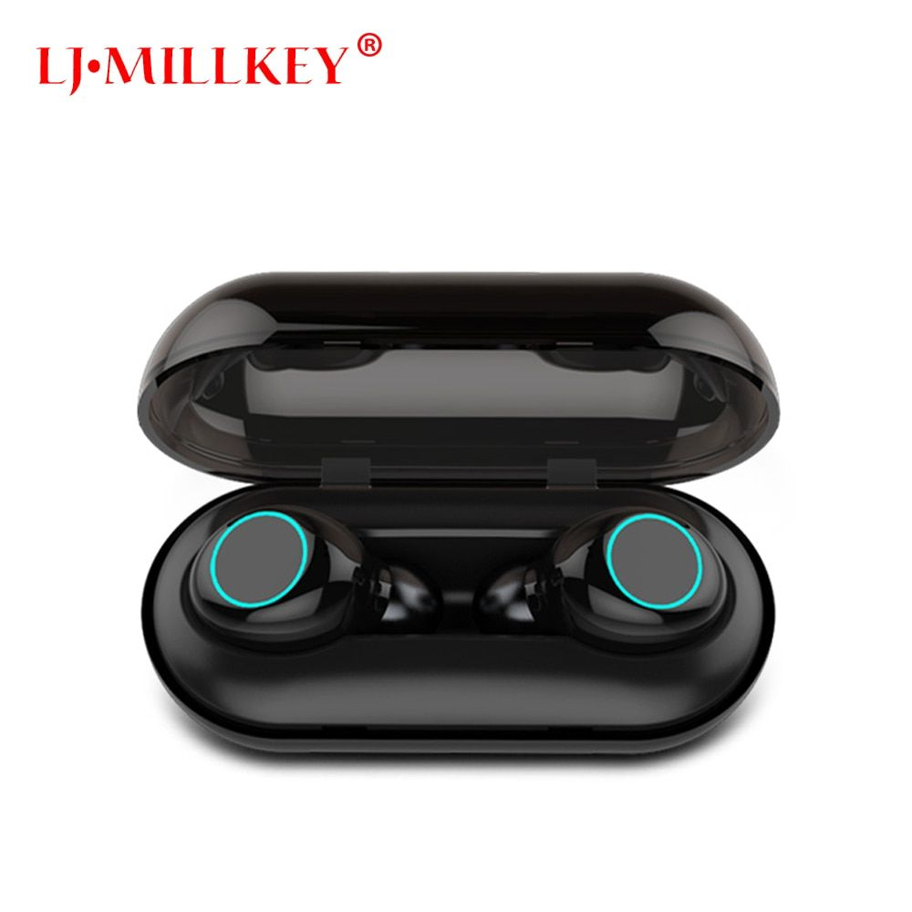 Bluetooth 5.0 TWS Mini Wireless Earphone IPX8 Waterproof Bluetooth Earphones Touch Control Hifi Wireless Earbuds Headset YZ205