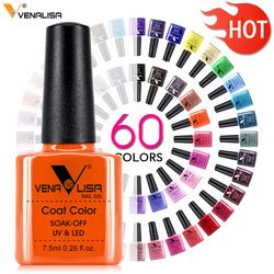61508 Venalisa 7.5ml Nail Gel Polish Color Nail Gel lacquer nail art Soak Off Fast Dry Long Lasting Color Gel nail polish supply