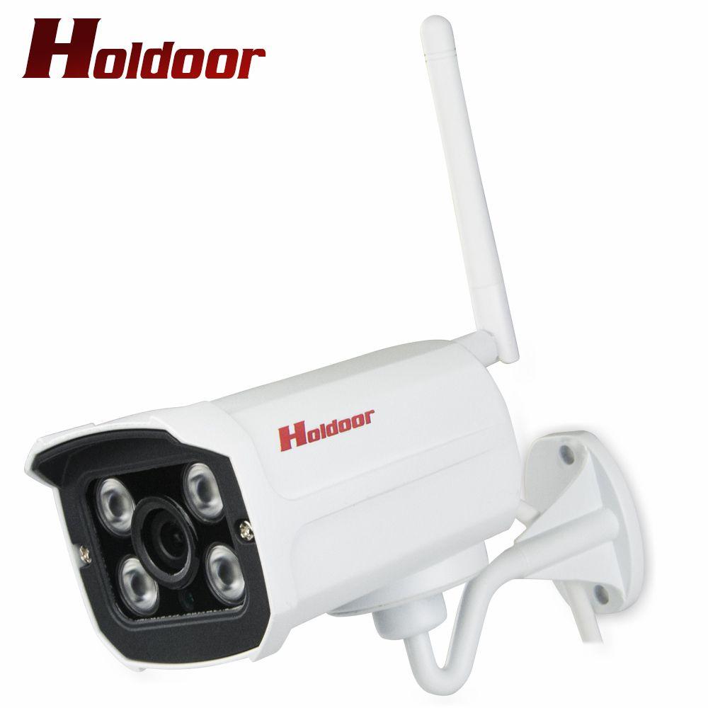 Holdoor WiFi CCTV Caméra de Sécurité 1080 p/960 p/720 p Sans Fil IP Cam Extérieure IP66 de Surveillance À Domicile détecteur de mouvement Vidéo Android iOS