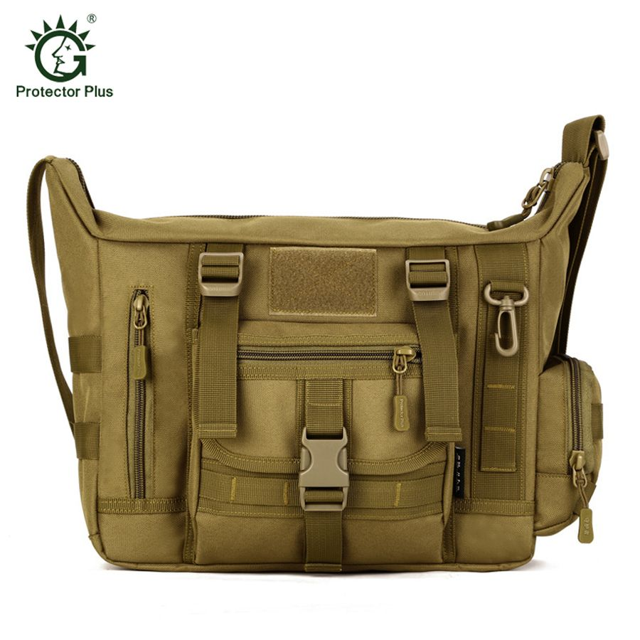 Outdoors Military Tactical Bag Acu CP Camouflage Army Green Mens Bag Hiking Travelling Sport Army Duffel Messenger Bag