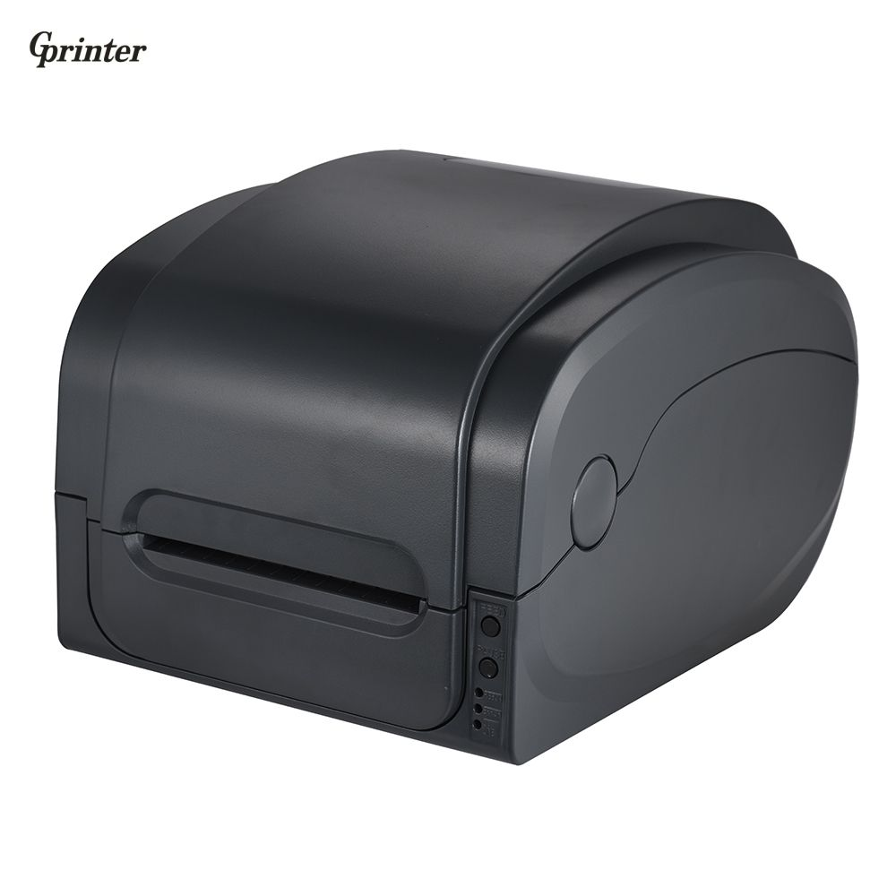 Gprinter Thermal Transfer Receipt Printer Barcode Label Printer 300dpi High Resolution 104mm Print Width for Warehouse Retail