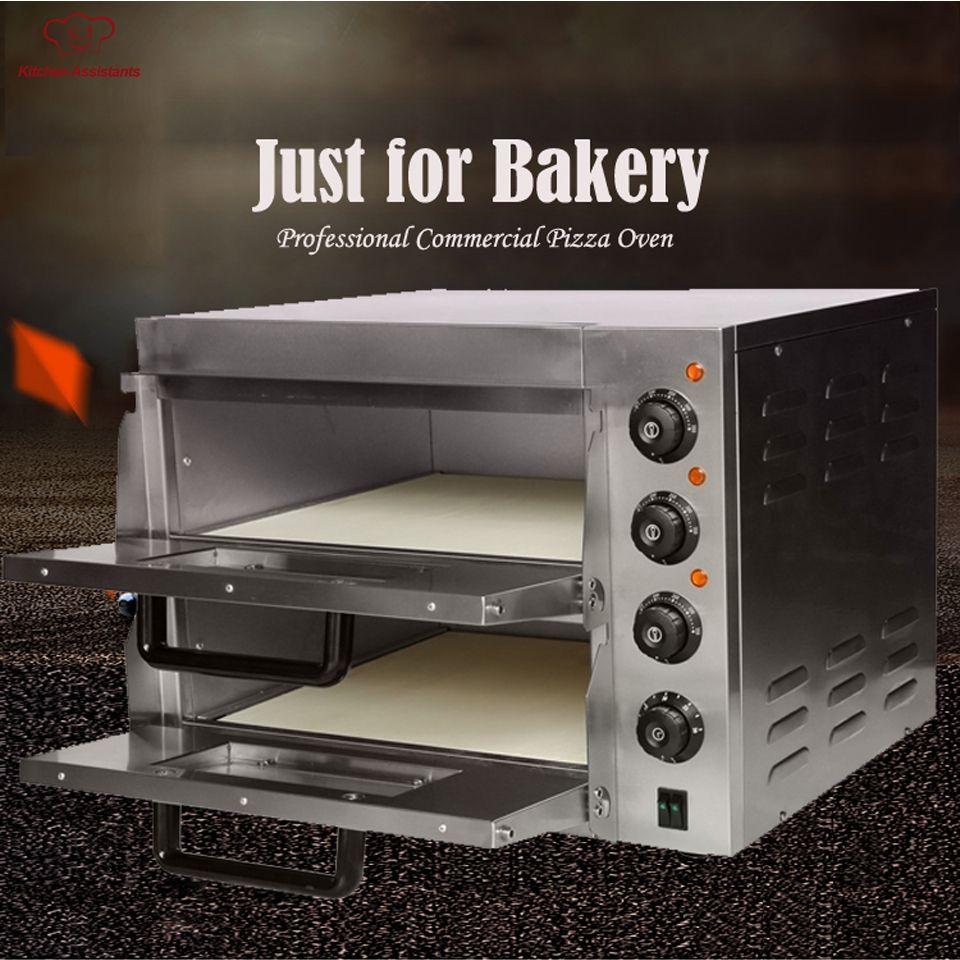 EP2ST Heißer verkauf Elektrische Pizza Bäckerei Ofen mit timer für kommerziellen verwenden für die herstellung von brot, kuchen, pizza