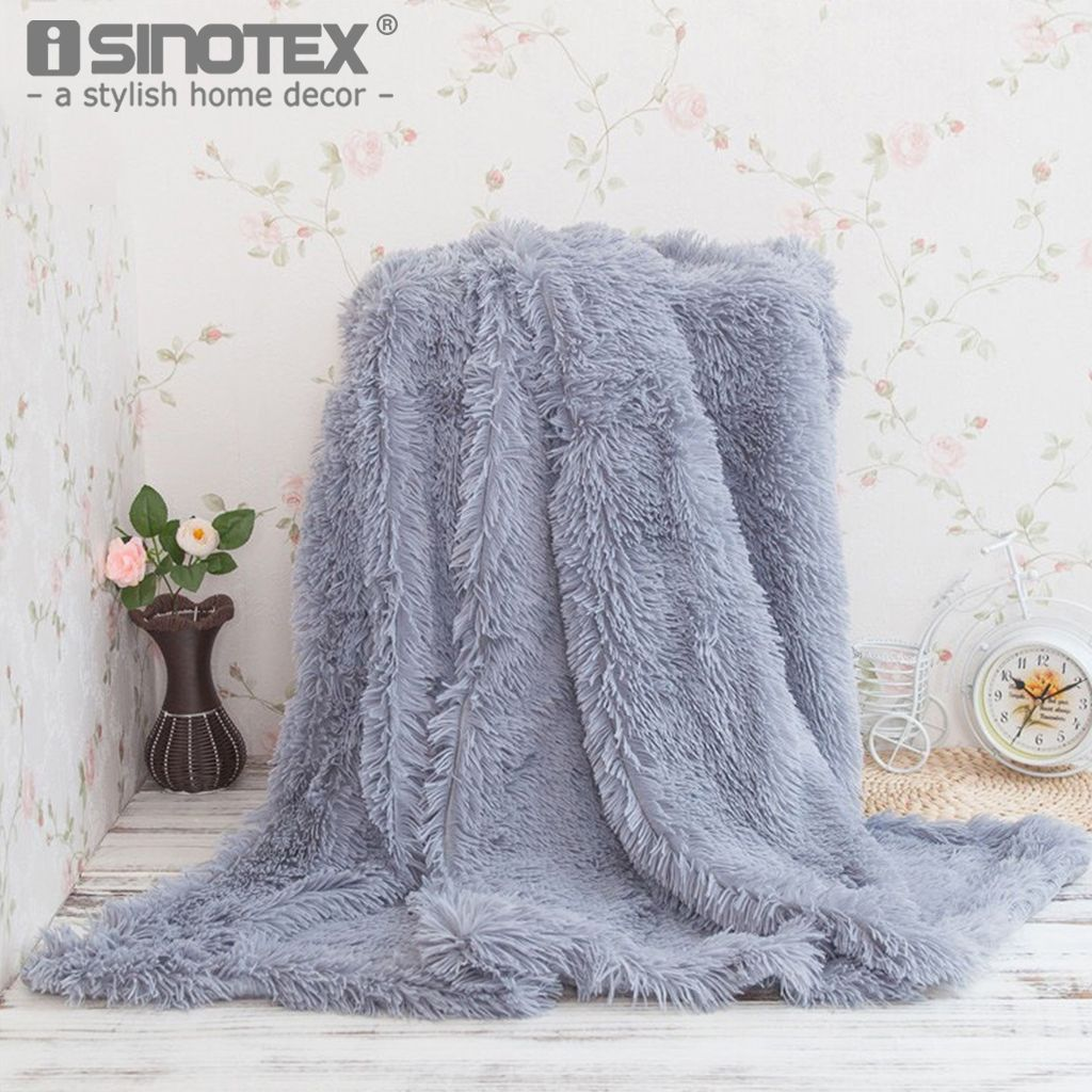 Coral Fleece Fabric Flannel Blanket Home Textile Polyester Solid Winter Warm Soft Bedsheet Decoration Bedroom Home Sofa 1 PCS