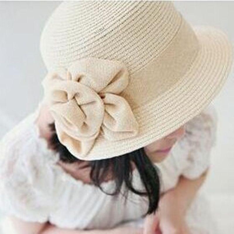 VORON 2017 new fashion summer hat for women flower hat women spring and summer sunbonnet women beach cap straw hats