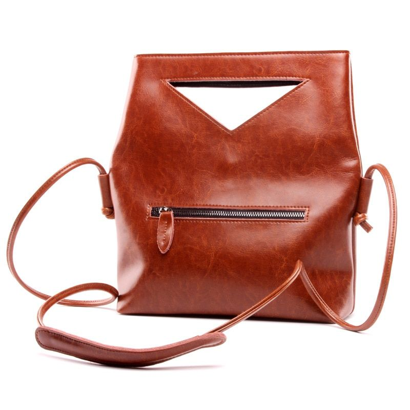 Free Shipping Brand Designer 2017 Women's Genuine Leather Vintage Single Shoulder Bag Women Crossbody Bags Handbags For Ladies