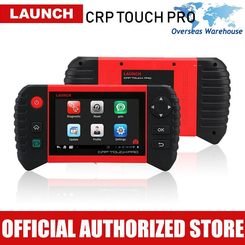 Launch CRP Touch Pro Car Diagnostic Scan Tool Full System Diagnostics Scanner Auto Diagnosis Brake Oil Reset DPF