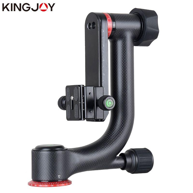 KINGJOY Offizielle KH-6900/6900C Stativ Ball Kopf Professionelle Gimbal Stativ Kopf Für DSLR Kamera Und 360 Grad Panorama Flüssigkeit