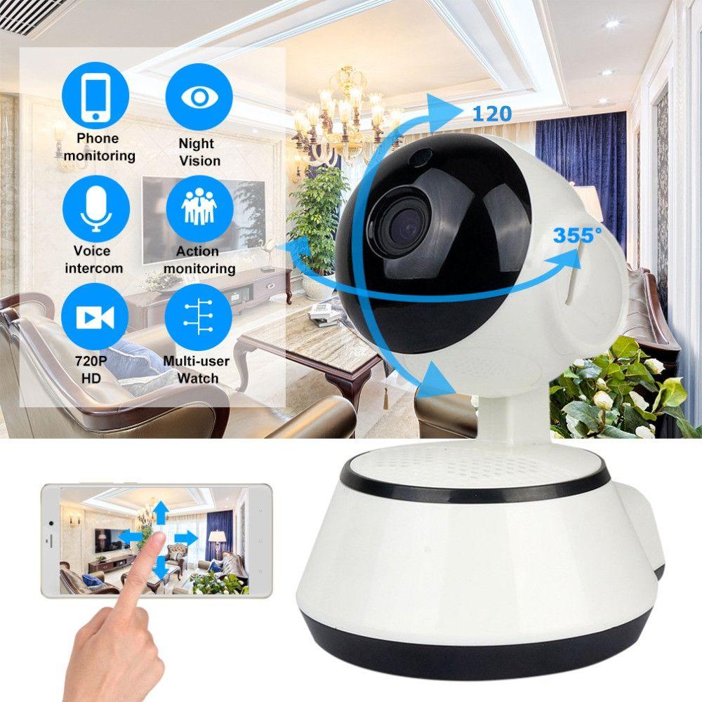 Bébé Moniteur Portable WiFi IP Caméra 720 p HD Sans Fil Intelligent Bébé Caméra Audio Vidéo Fiche de Surveillance de Sécurité À Domicile Caméra