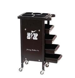 Beauty Salon Cart Hot Dye Cart Hair Salon Five Bars Barber Shop Cart Tool Cabinet.
