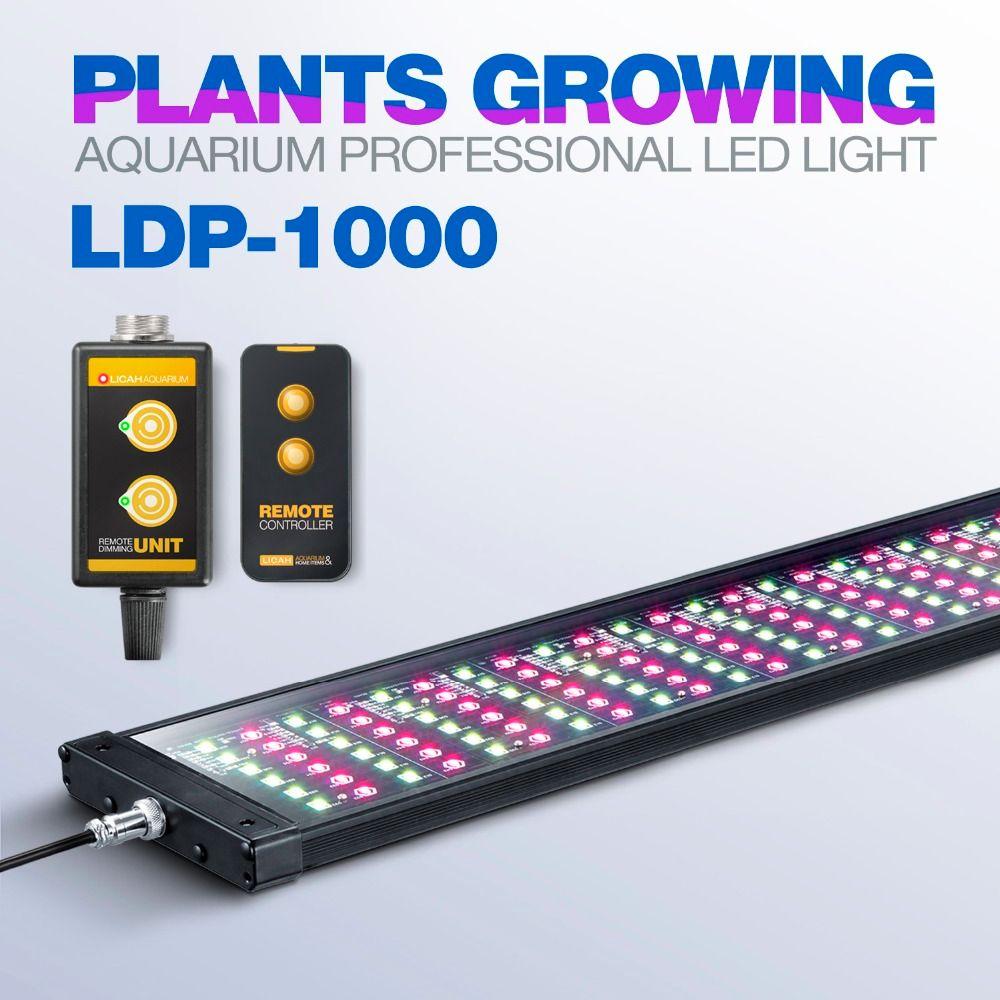 LICAH AQUARIUM PLANT LED LIGHT LDP-1000 Free Shpping