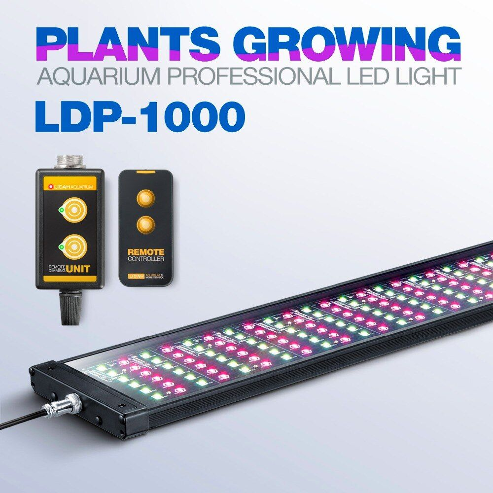 LICAH Süßwasser Aquarienpflanzen LED LICHT LDP-1000 Freies Shpping