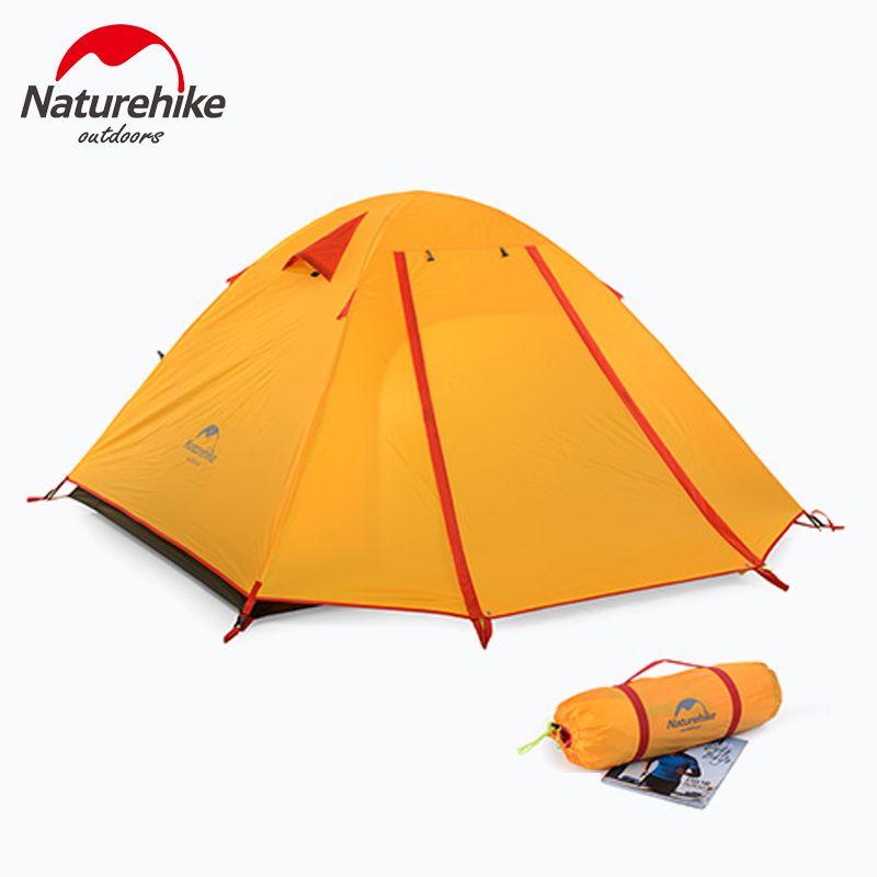 Naturehike Ultraleicht Outdoor-camping-zelt Trail Trekking Wandern Reisen Strand Zelt 3 Personen Familie Zelt Anti UV Wasserdicht
