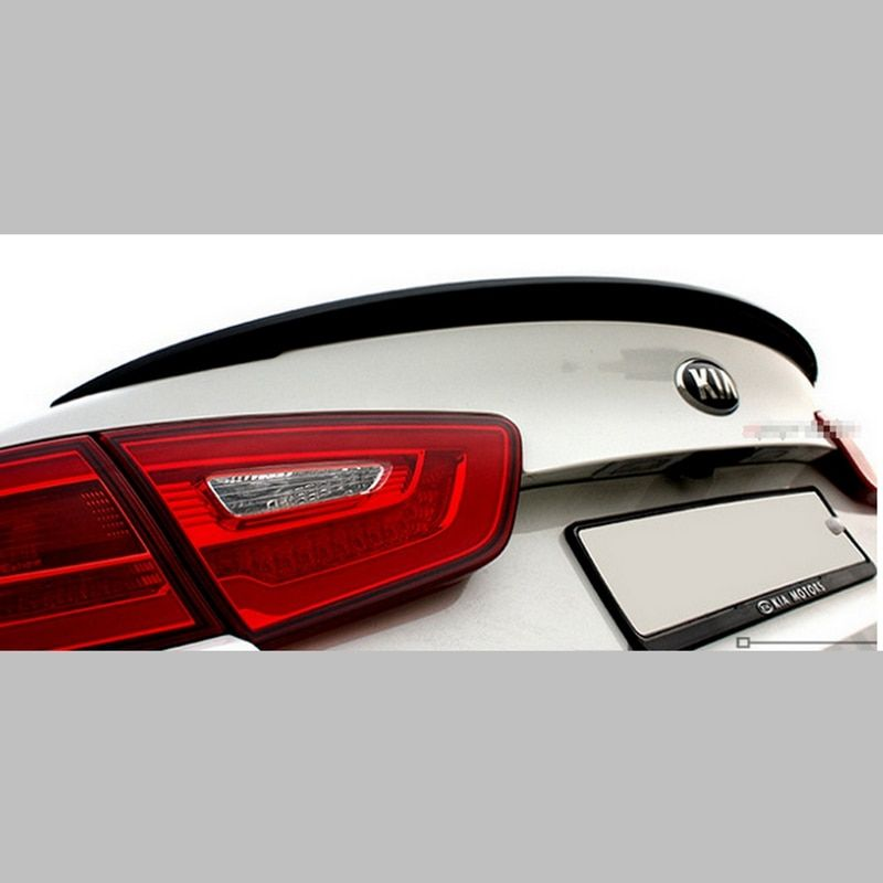 Car Accessories ABS Plastic Material Rear Wing Unpainted Primer Color Rear Roof Wing Spoiler For Kia K5 Optima Spoiler 2014 2015