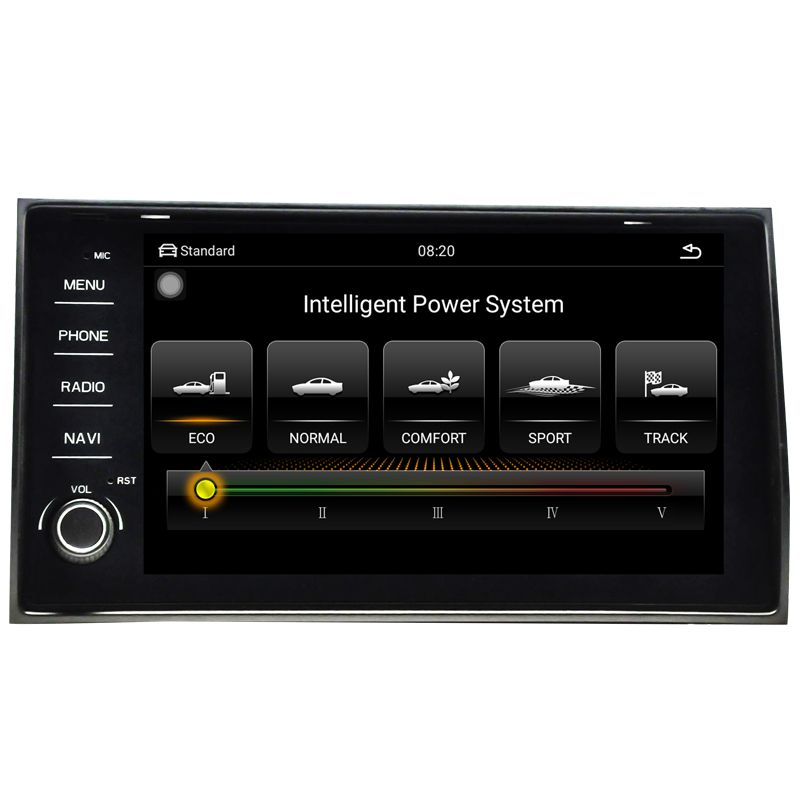 Auto radio navigation auto multimedia video android 8.1 auto dvd für VW Skoda KODIAQ 2015-2018 9