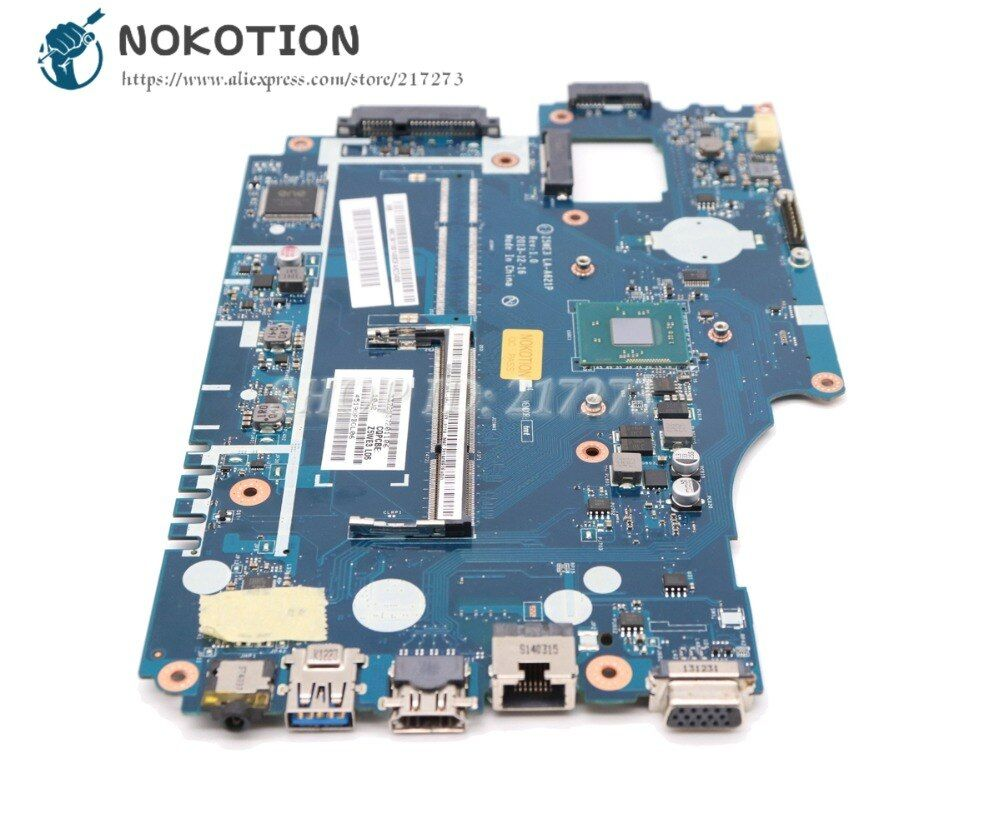 NOKOTION Z5WE3 LA-A621P NBY4711002 PC Main Board For Acer Aspire E1-510 E1-510-2500 Laptop Motherboard Logic Board DDR3