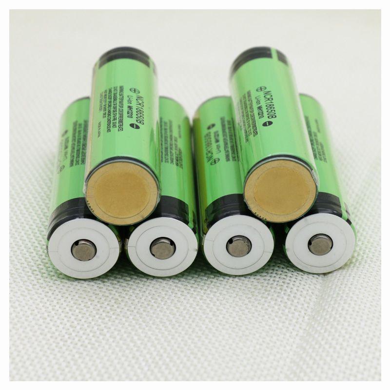Liitokala Protégé D'origine batterie rechargeable 18650 NCR18650B 3400 mAh avec PCB 3.7 V Livraison Gratuite convient pour lampe de Poche