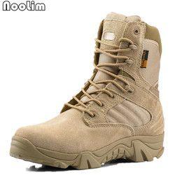 2017 de los hombres del desierto de Militar táctico Botas hombres al aire libre del combate Botas botas militares sapatos Masculino