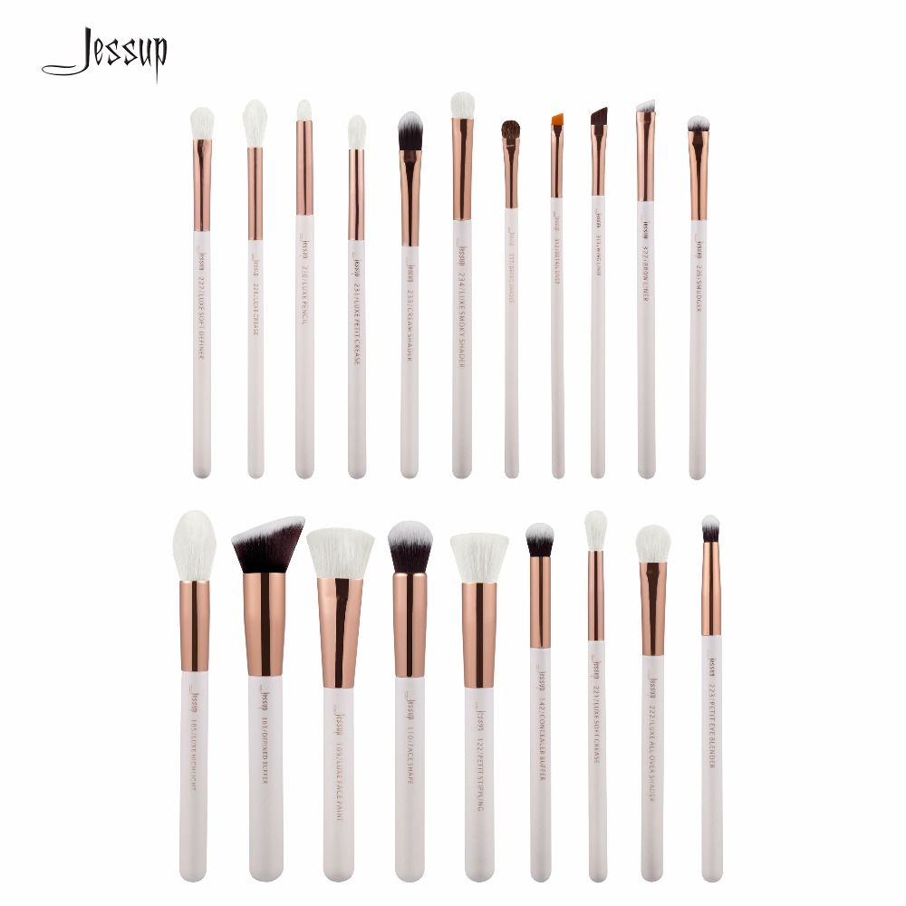Jessup Brushes 20pcs Professional Makeup Brushes Set Makeup Brush Tools kit Foundation Powder Brushes T225