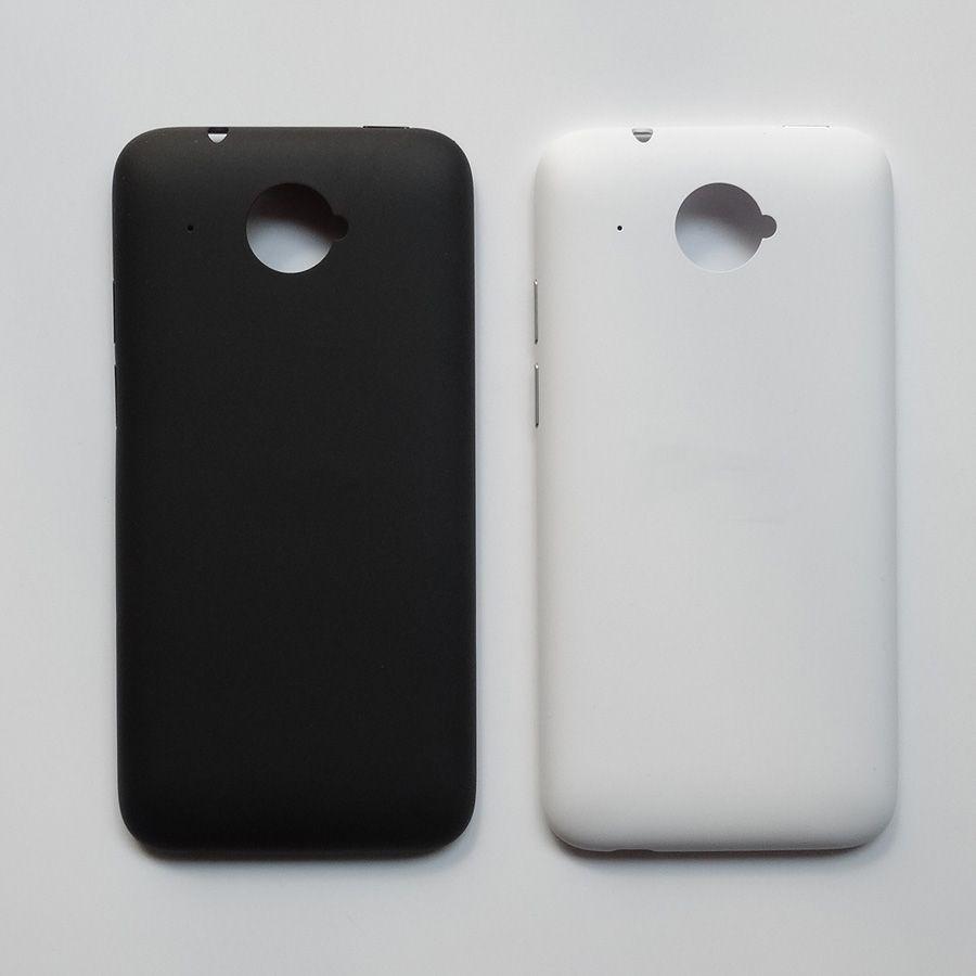 Original Material Gehäuse Batterieabdeckung Teile Argument Für HTC Desire 601 Batteriefach Rückseitige Abdeckung + Power lautstärketaste Weiß schwarz