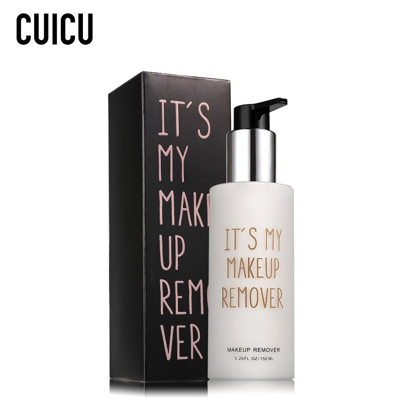 CUICU Brand Eye Face Cleanser Makeup Remover Lotion Deep Cleaning Quick Dissolve Plant Essence Skin Care Anti-acne Cleansing Oil