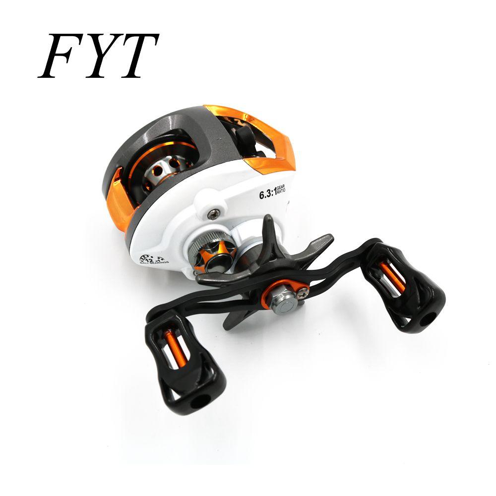 12 + 1 roulements étanche gauche/droite Baitcasting moulinet de pêche haute vitesse moulinet de pêche avec système de freinage magnétique LP200