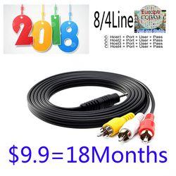 1 año CMC para el receptor de satélite 4/8 Clines WIFI FULL HD DVB-S2 apoyo vía el dongle del USB Wifi
