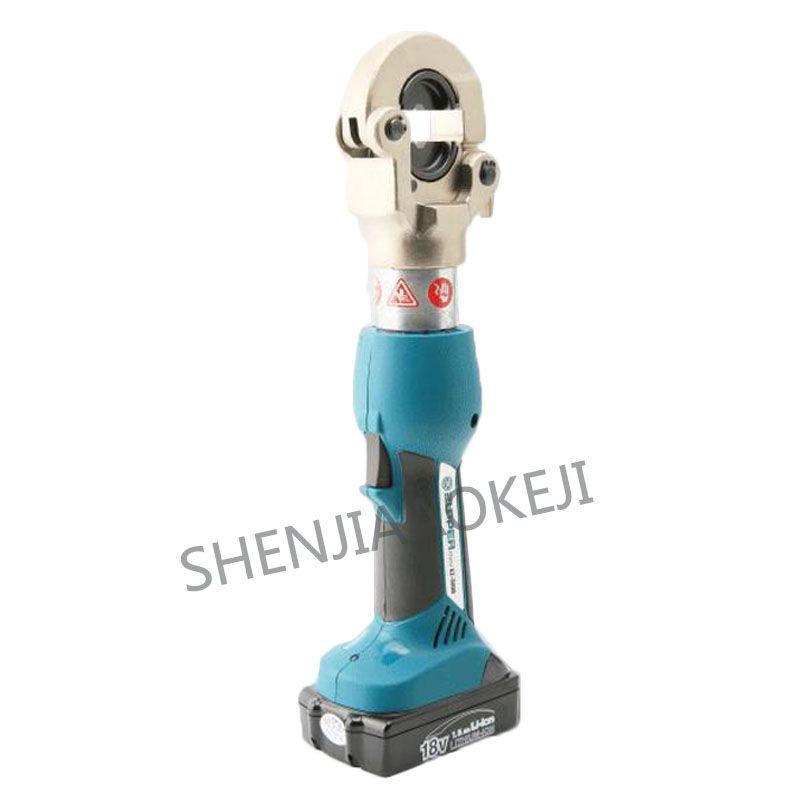 Lade hydraulische clamp 18 V EZ-300B Elektrische crimpen zangen kupfer und aluminium crimpen Power kabel werkzeug Automatische reset