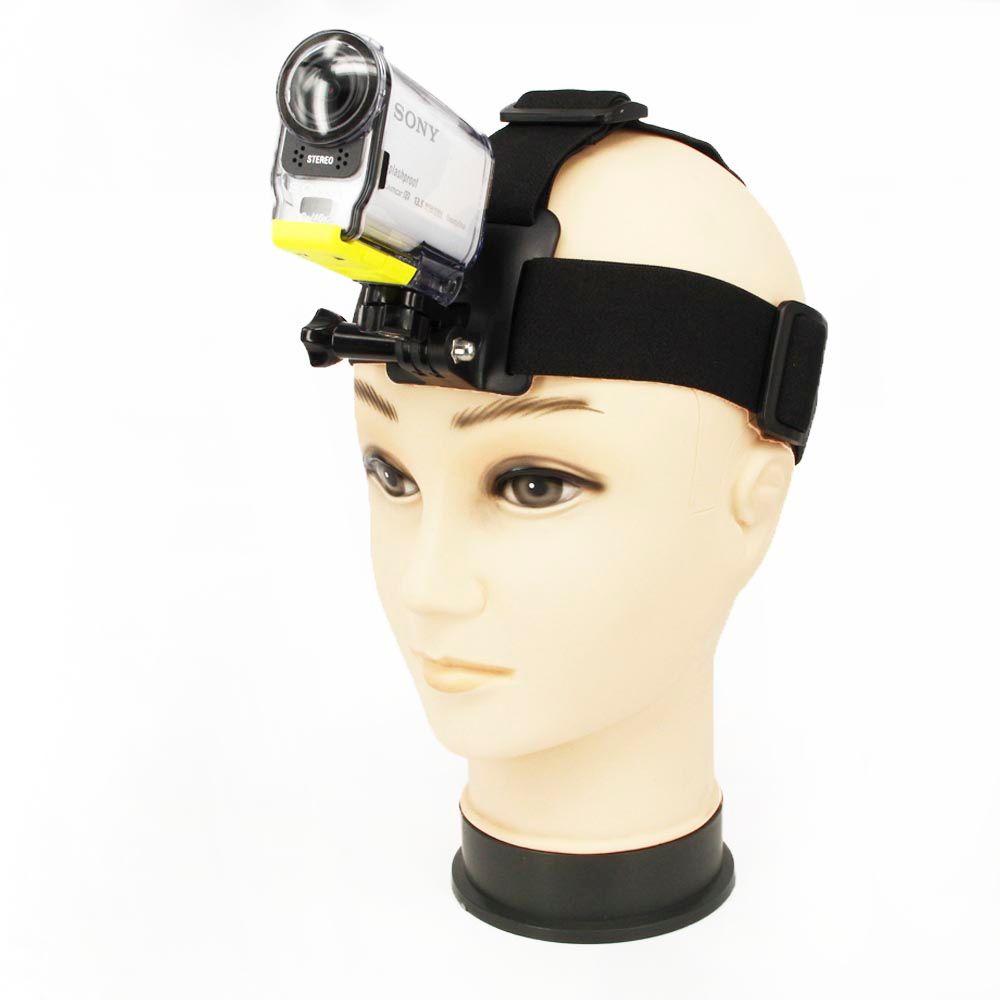 3ni 1 set courroie de tête de came courroie flexible + adaptateur de montage + boulon à vis Long pour Sony Action Cam HDR-AS30V/AS100V/AS200V accessoires