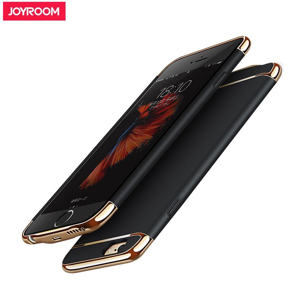 Joyroom Externes Ladegerät Fall Für iPhone 6 s 6 7 plus bewegliche Energienbank Pack Unterstützungsbatterie-kasten Abdeckung für iphone 7