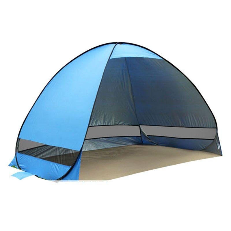 Zelt Strand Zelt Sonnendach UV-Uv-schutz-quick Automatische Öffnen Zelt Lightwight Pop Up Öffnen Für Outdoor Camping angeln